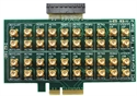 Picture of PCIE_BO1 PCI Express x4 to SMA Breakout board